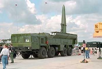 Высокоточный ракетный комплекс «Искандер»