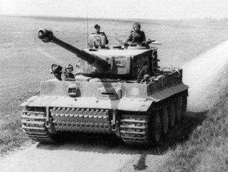 Немецкий танк tiger