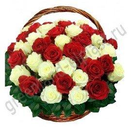 Букеты к 9 Мая, цветы ко Дню Победы, корзины и композиции из 54