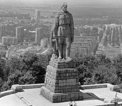Памятник Алеша в Болгарии