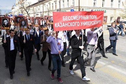 ВКазани прошел парад Победы
